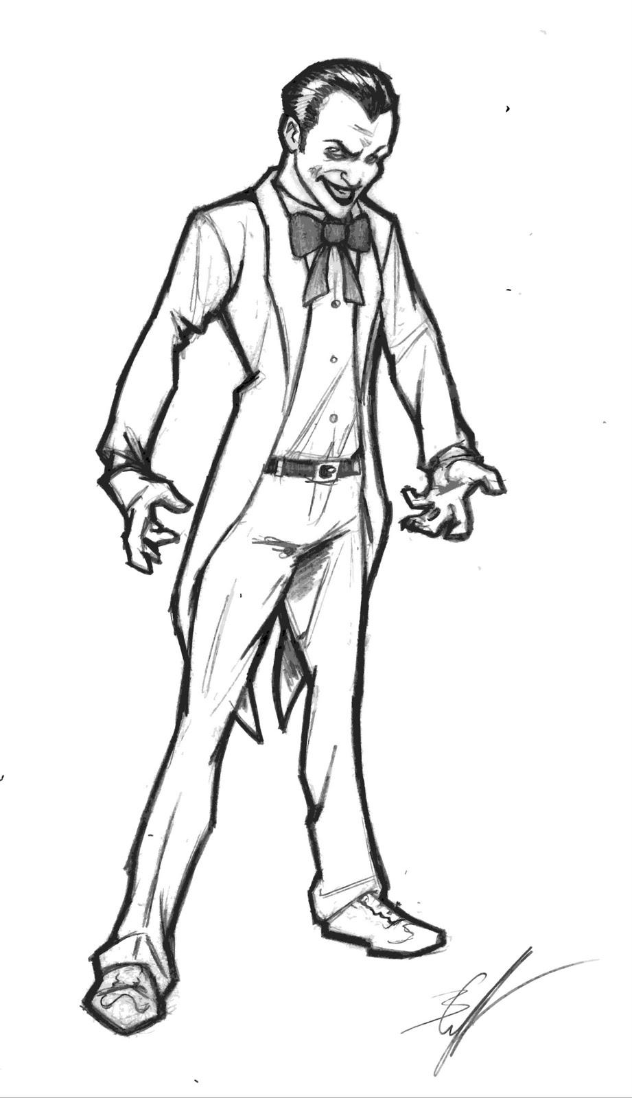 921x1600 Easy Gangster Clown Drawings