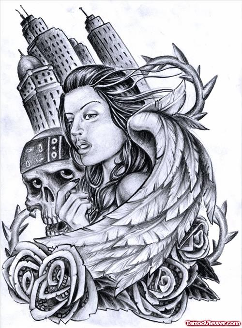 500x677 Gangster Clown Girl Tattoo Images And Designs