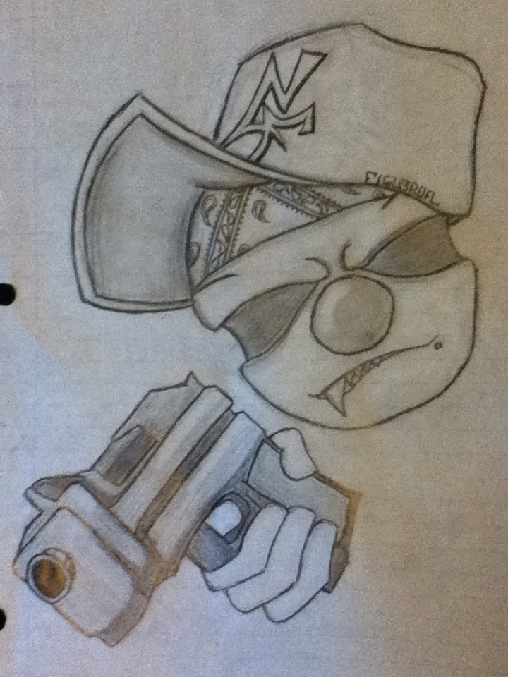720x960 Gangsta Clown By Joker8851