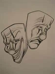 225x300 Gangster clowns tattoo Design That I Love Clown
