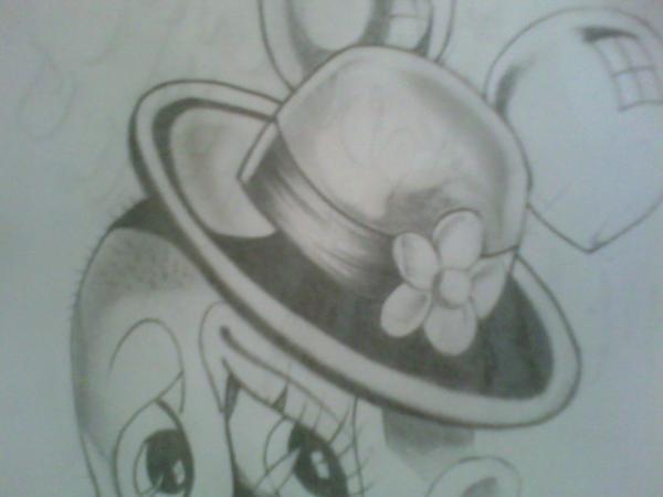 600x450 Sad Gangster Clown Drawing