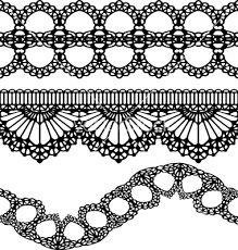 219x230 Image Result For Lace Garter Drawing Pattern Lace
