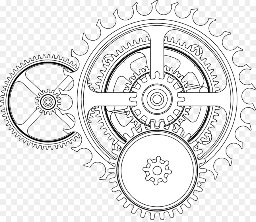 Gear Clock Drawing At Getdrawings Com Free For Personal Use Gear