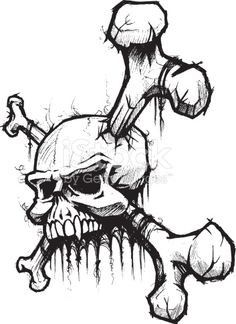 236x324 Pin By Gene O On Skulls Tattoo, Drawings And Drawing