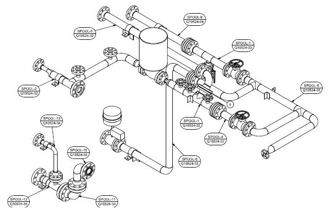 655x432 General Assembly Part Drawing Services