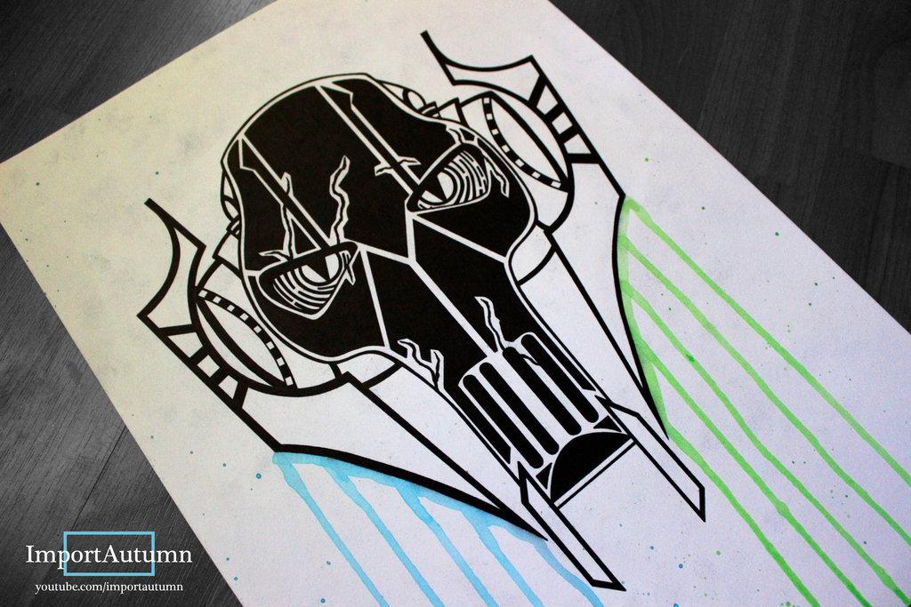 1024x683 Drawing General Grievous [Star Wars Speeddraw] By Importautumn