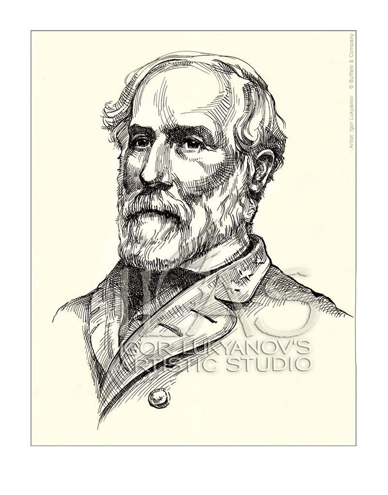 800x1020 Famous Men Portraits Robert E. Lee