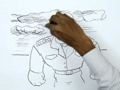480x360 How To Draw A Military General
