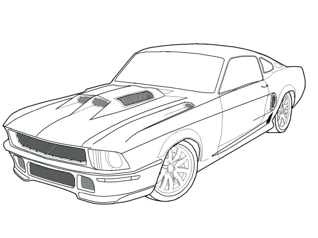 1024x768 Dodge Ram Coloring Pages Lovely Dodge Charger Drawing At Dodge