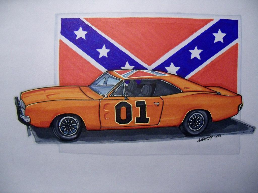 1024x768 Car Sketch
