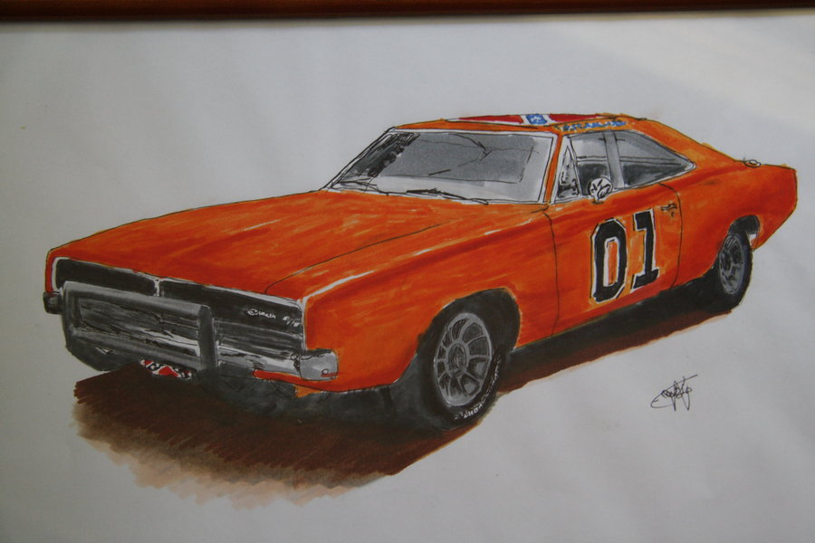 900x600 General Lee By Patatje36