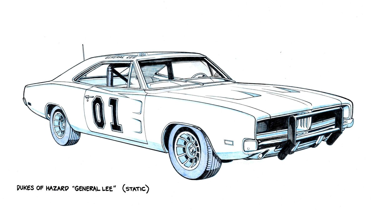 1187x673 The General Lee By Jerome K Moore