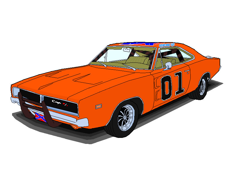 800x600 The General Lee By Todge69
