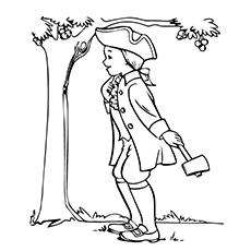 George Washington Drawing Simple
