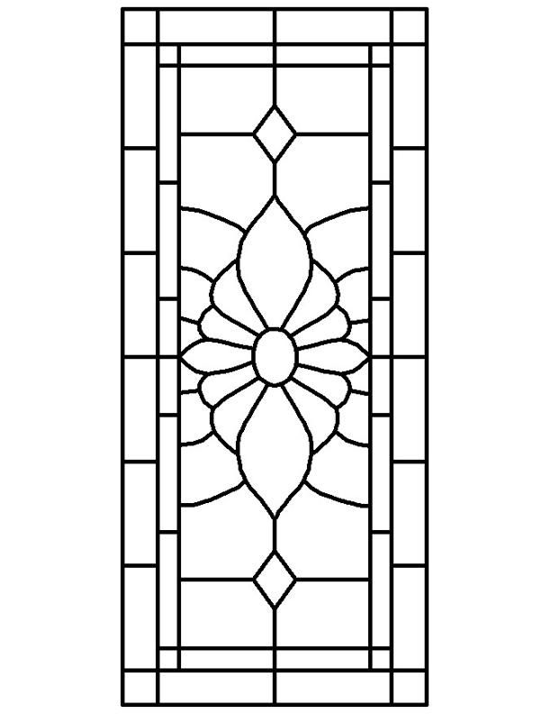 Glass Window Drawing