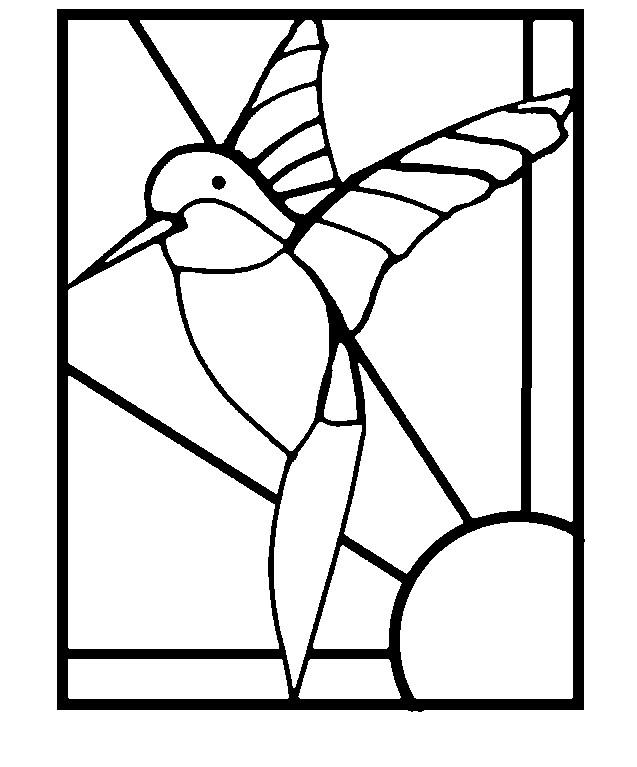 637x767 Stained Glass Window Art