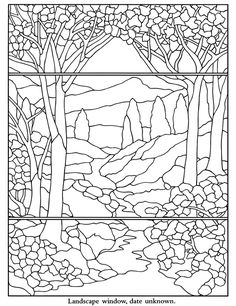 236x306 Stained Glass Window Coloring Page Worksheets