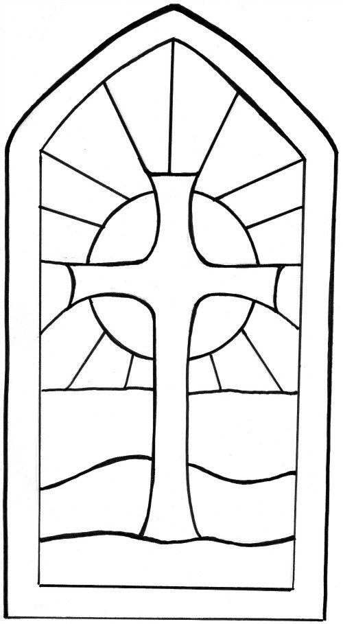 500x909 Stained Glass Window Template Stain Glass Ideas