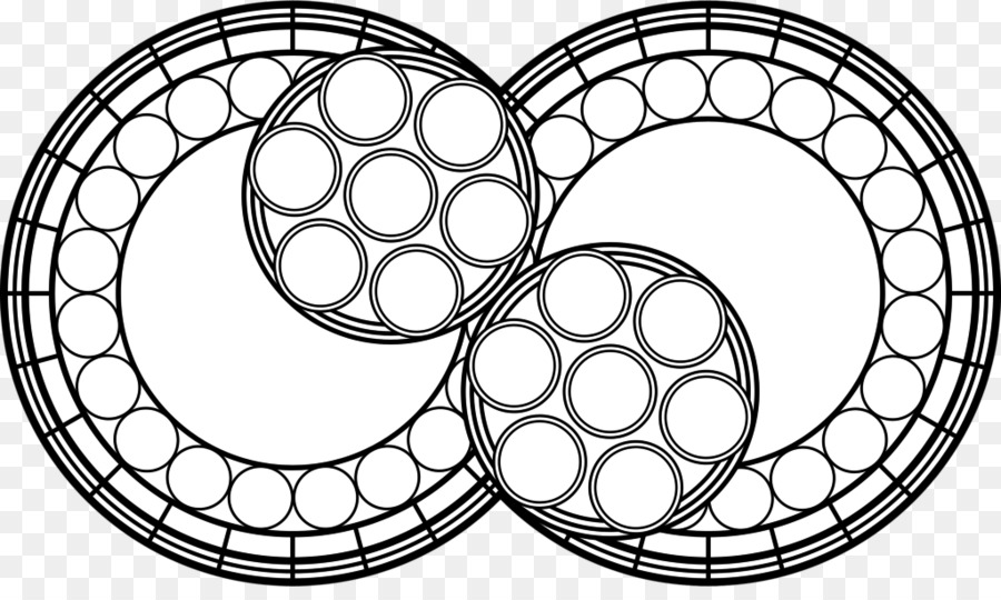 900x540 Window Stained Glass Drawing Pattern