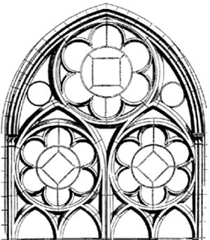 300x343 43 Best Stained glass And Rose Windows Images On Rose