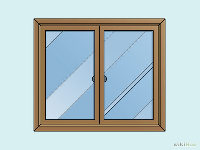 670x503 Collection Of Glass Window Drawing High Quality, Free