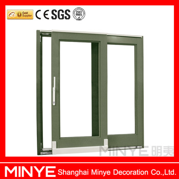350x350 Aluminum Frame Tempered Double Glazed Glass Househome Use