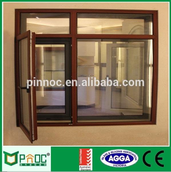 598x602 Corner Butt Joint Glass Window,swing Window,aluminum Casement