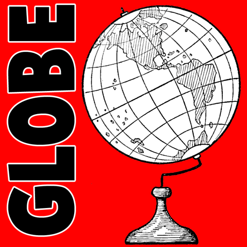 500x500 How To Draw World Globes With Easy Step By Step Drawing Tutorial
