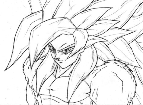 Search For Goku Drawing At Getdrawings Com