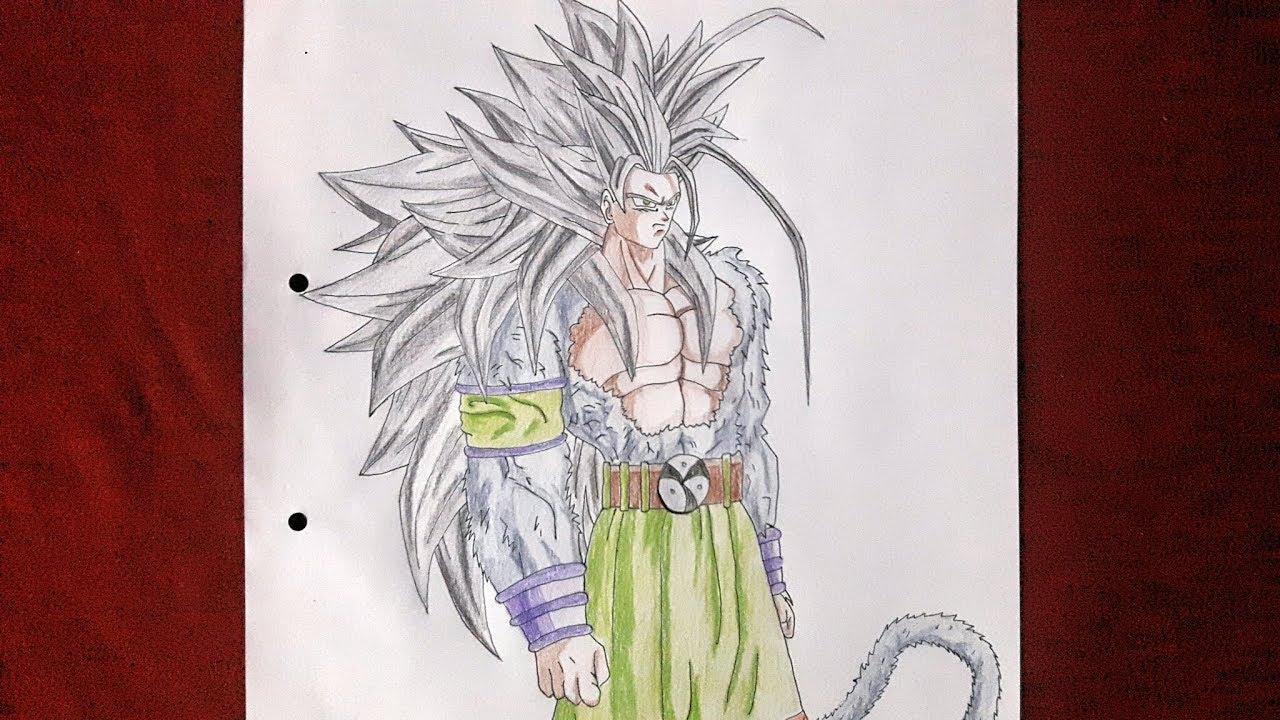 goku drawing super saiyan 5 at getdrawings com free for personal
