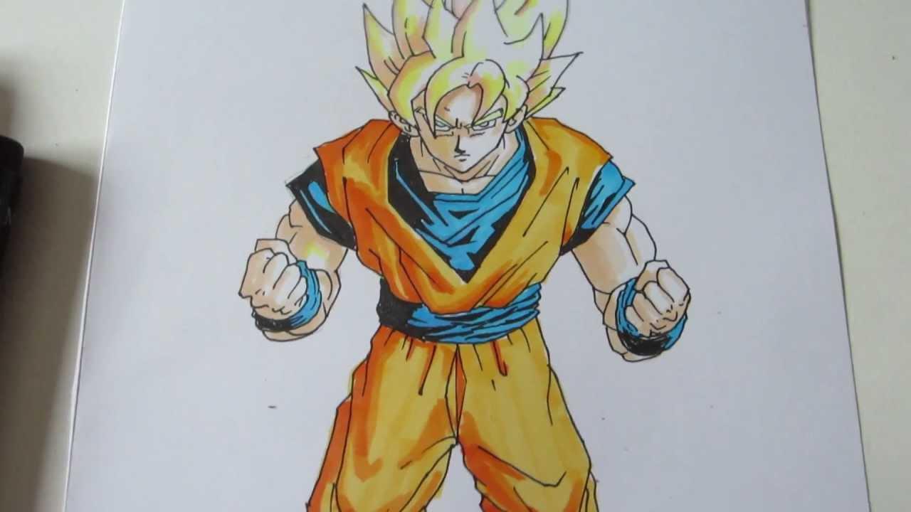 Goku Drawing Super Saiyan 5 At Getdrawings Com Free For