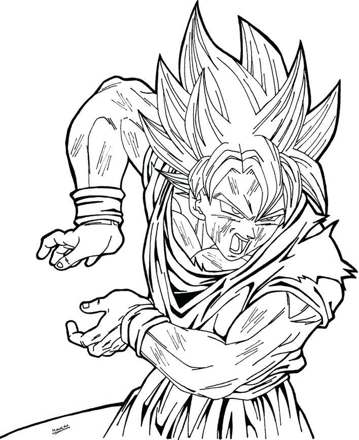 Goku Drawing Super Saiyan 5 at GetDrawings.com | Free for personal ...