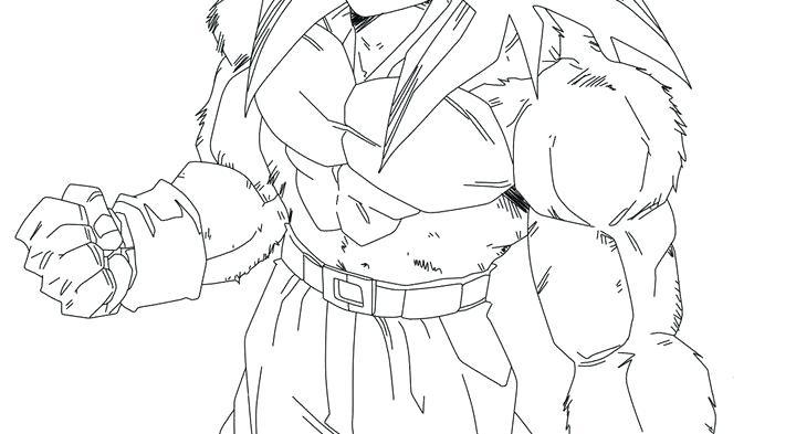 Goku Drawing Super Saiyan 5 At GetDrawings