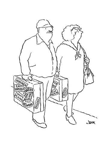 366x488 New Yorker Cartoon Premium Giclee Print By John Jonik