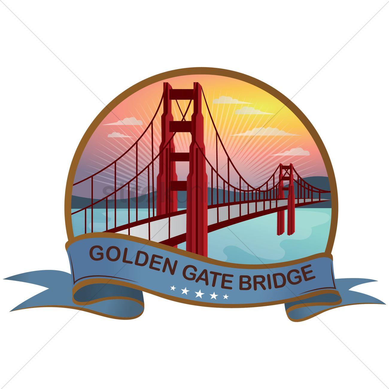 1300x1300 Collection Of Golden Gate Bridge Cartoon Drawing High