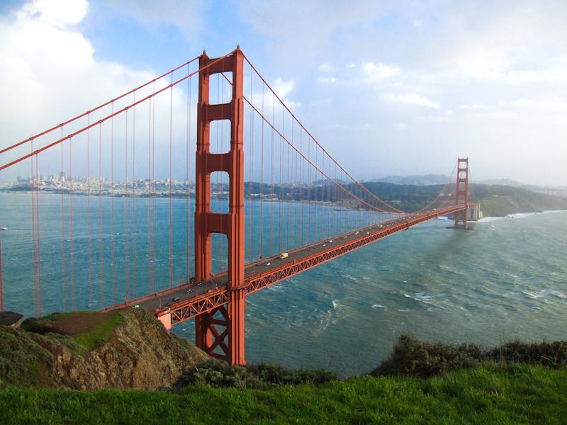 800x600 Golden Gate Bridge = Awesome (18.01.2010) Ohnitsch Cartoons