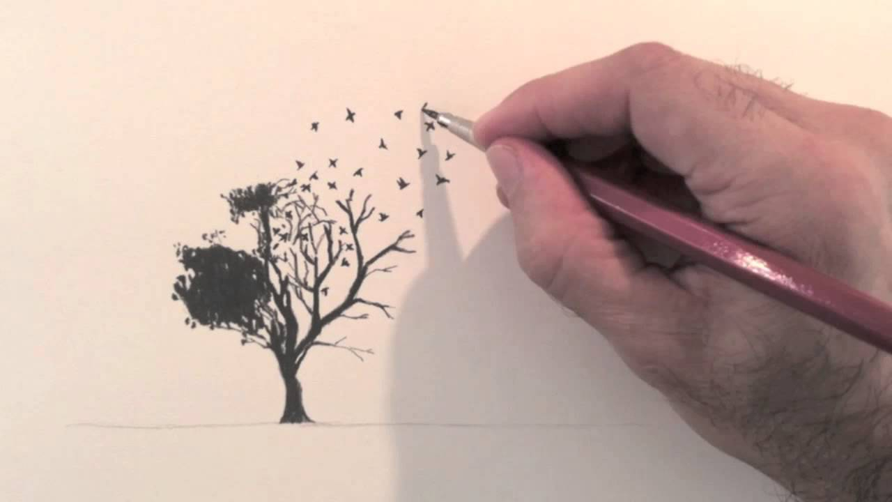 1280x720 Good Drawing Ideas For Beginners How To Draw A Surreal Idea