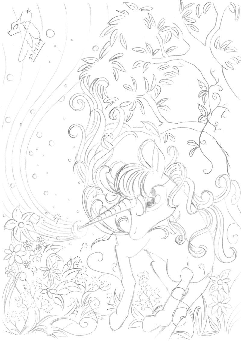 800x1131 Good Vs Evil Unicorns Good By Winged Dragoness