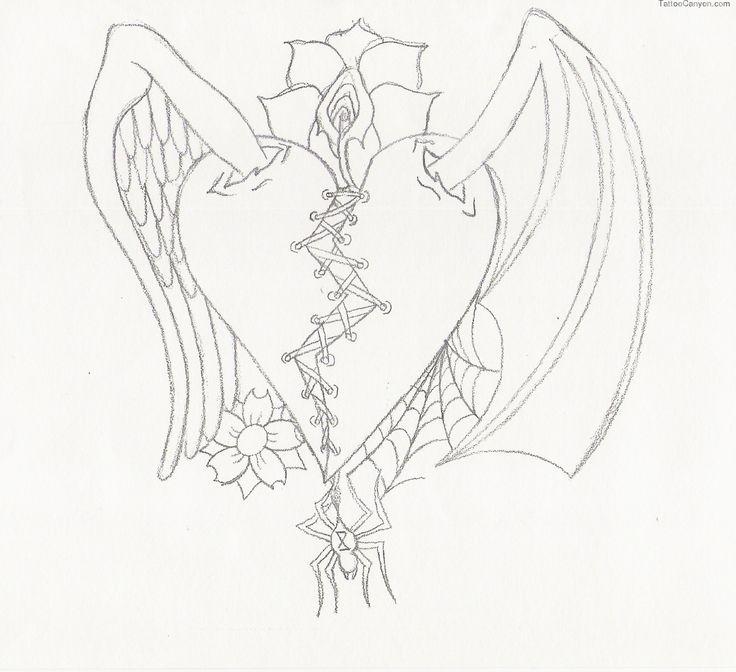 736x672 38 Best Evil Tattoo Outlines Images On Evil Tattoos