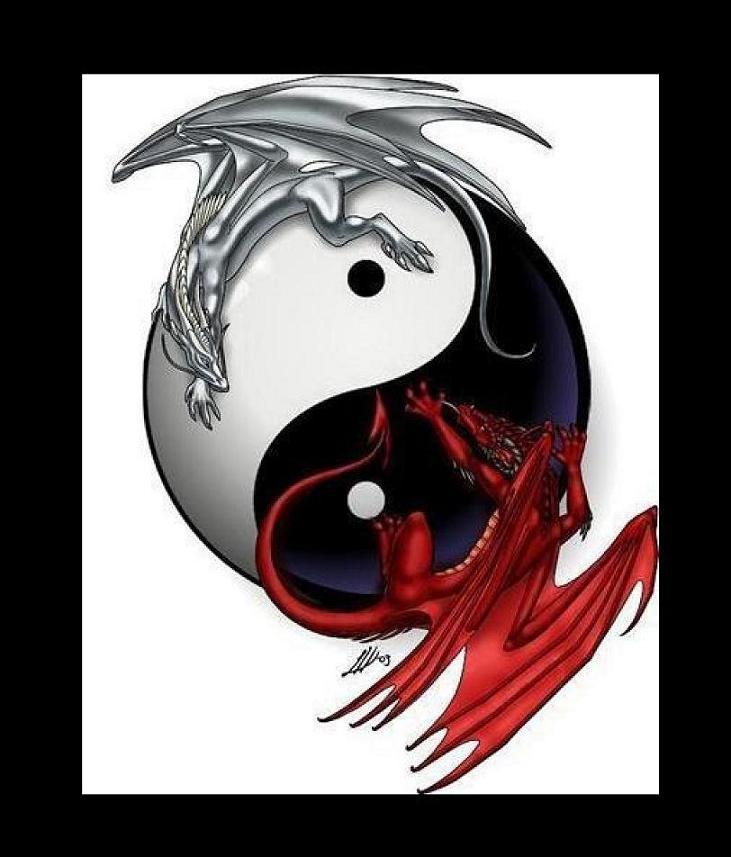 731x857 Good Vs Evil By Homicidal Kitsu