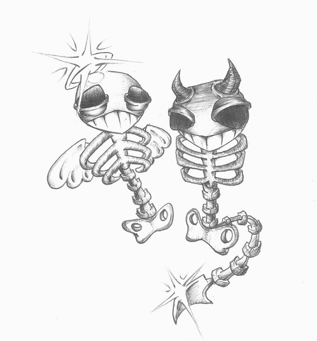 651x700 Good And Evil By Misfortunes