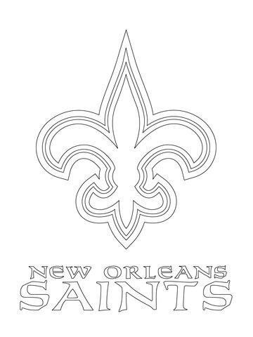 360x480 New Orleans Saints Coloring Pages