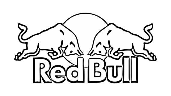 570x320 Red Bull Logo Drawing