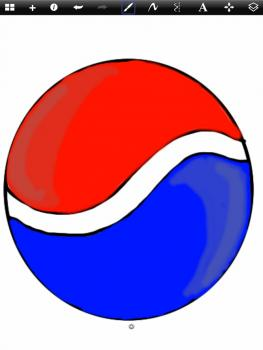 263x350 How To Draw How To Draw The Pepsi Logo