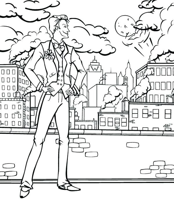 600x767 City Coloring Page For Kids Lego Train Pages