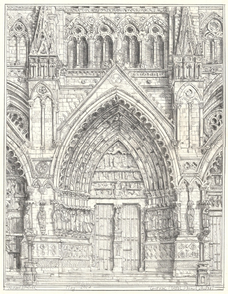 736x950 27 Best Gothic Architecture Sketches Images On Pinterest
