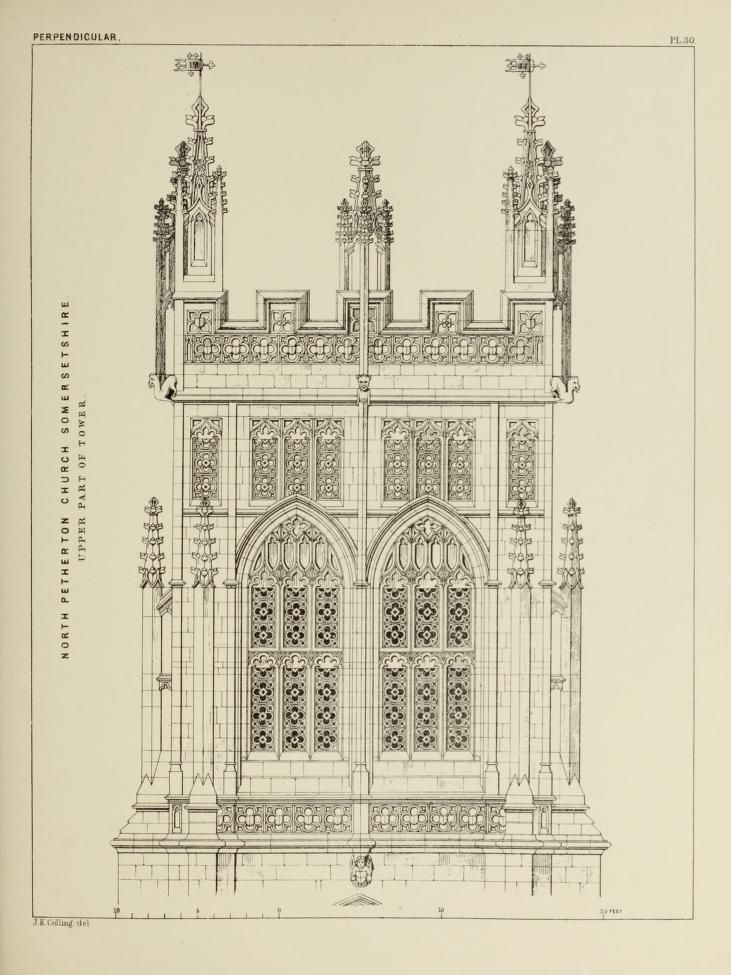 731x975 Details Of Gothic Architecture Architectural Drawings