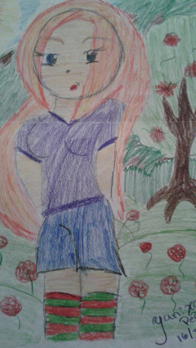 670x1191 6th Grade Drawing By Krystalkate The Wolf