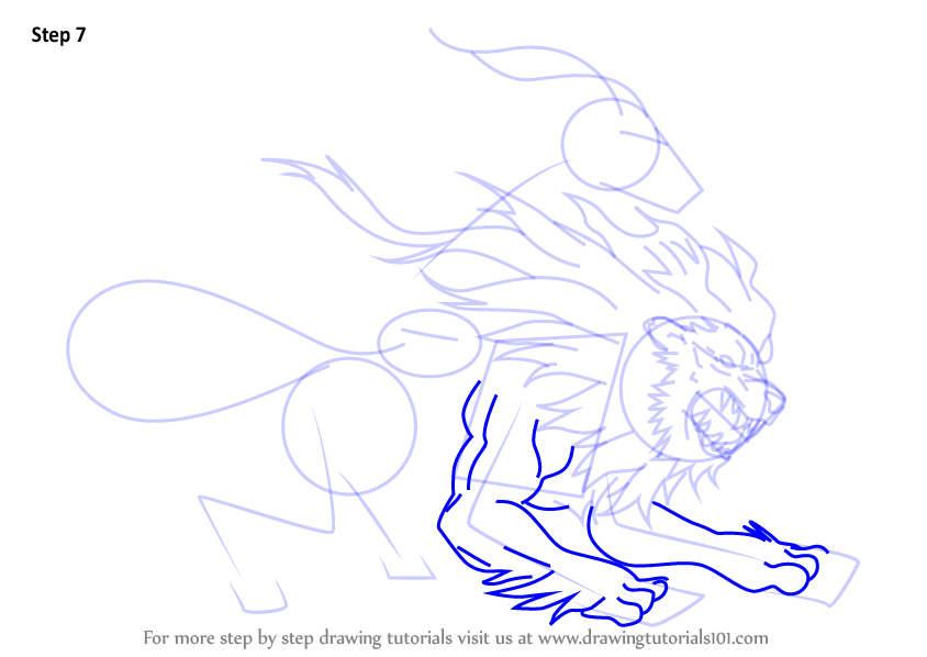 844x598 Learn How To Draw Chimera From Fate Grand Order (Fate Grand Order