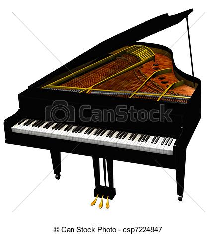437x470 Collection Of Grand Piano Drawing Top View High Quality